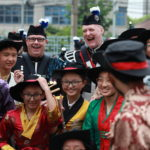 Picture of the week: Edinburgh Tattoo performers 'delight' crowds in China