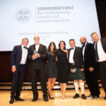 Edinburgh First scoop top award after organising 1,648 events for more than 132,000 delegates in 2018
