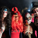 Ghosts and ghouls take part in 5K assault course race at Scottish castle