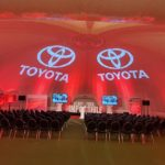 Evolution Dome 'goes places' with car giant Toyota