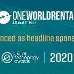 One World Rental Headlines Event Tech Awards