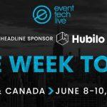 Event Tech Live US & Canada opens virtual doors next week!